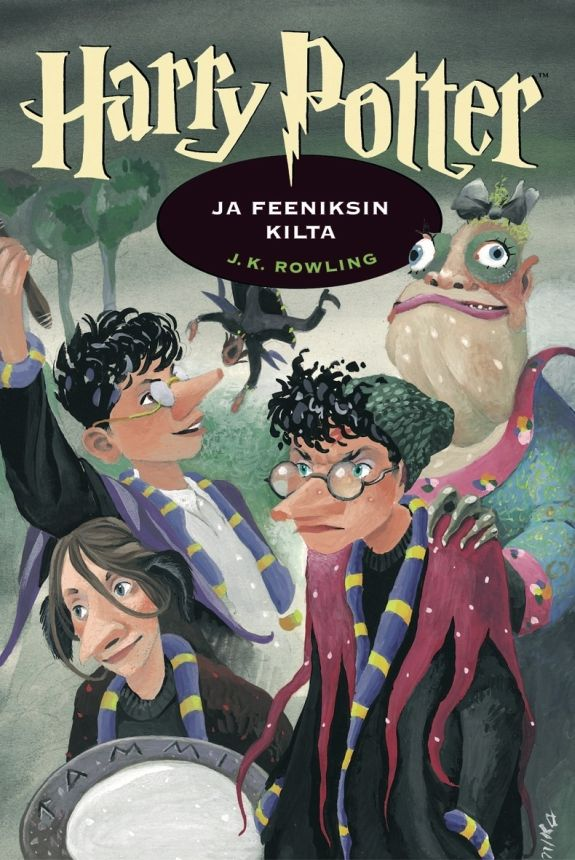 Harry Potter ja Feeniksin kilta (Harry Potter, #5)