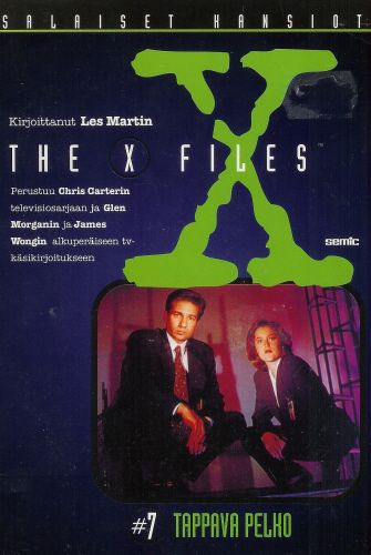 Tappava pelko (X-Files (Junior novels), #7)