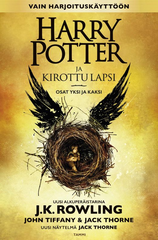 Harry Potter ja kirottu lapsi (Harry Potter, #8)