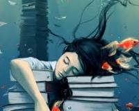 Kirjakaapin tyttö hahmo